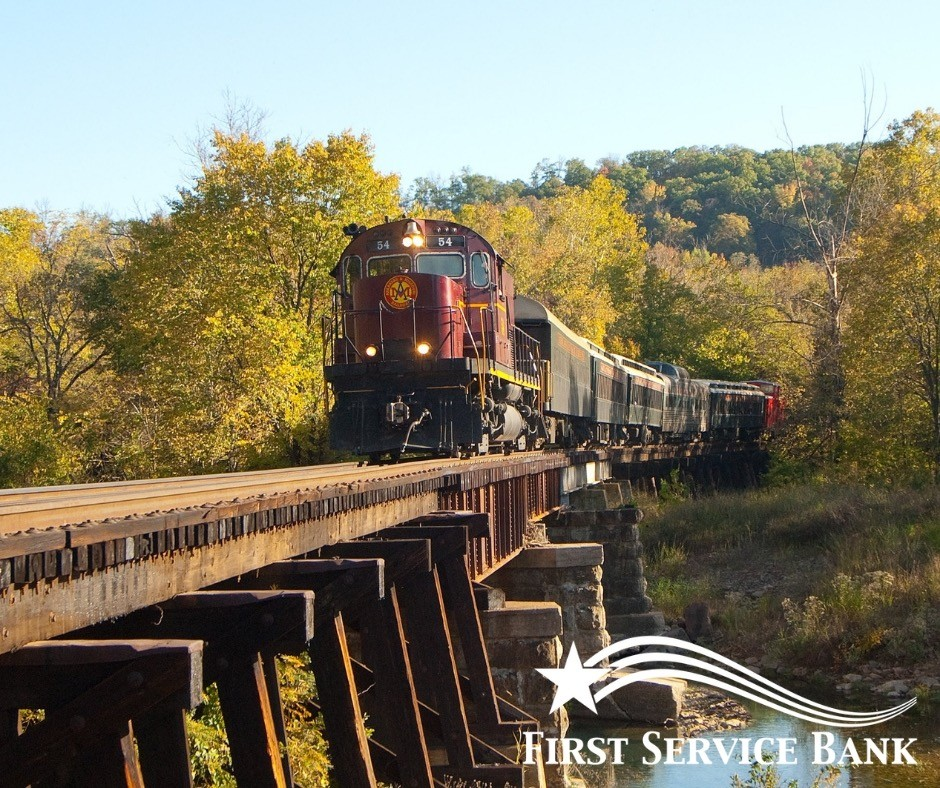 Join us on our next adventure as we travel by train from Van Buren to Winslow.