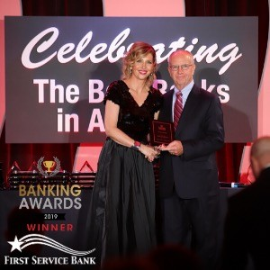 Community Icon, First Service Bank, Named Among the Top Extraordinary Banks in the USA