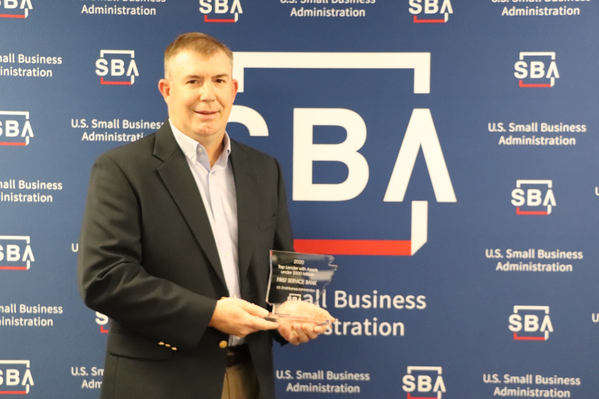 First Service Bank was awarded one of Arkansas SBA Top Lenders